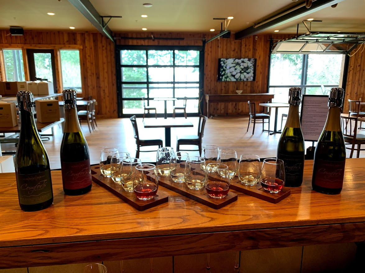 Comforts of Whidbey B&B and Winery tasting room (1)