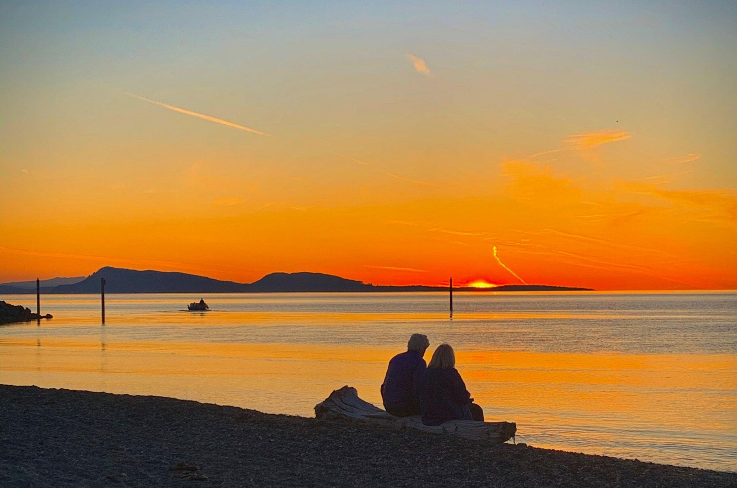 Sunset Couple Lopez Island