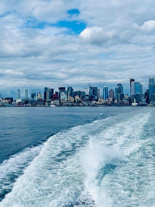 Seattle Skyline from Elliott Bay