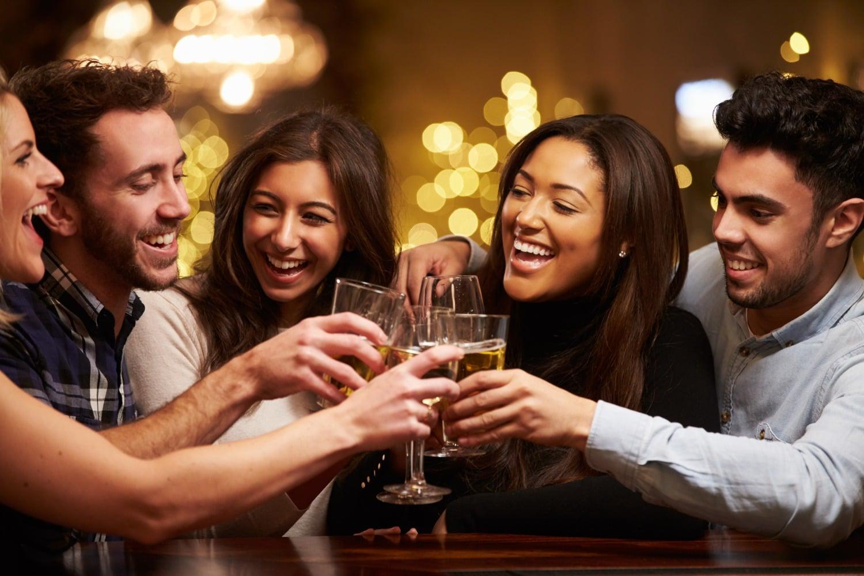 WIIN friends at winery drinking wine